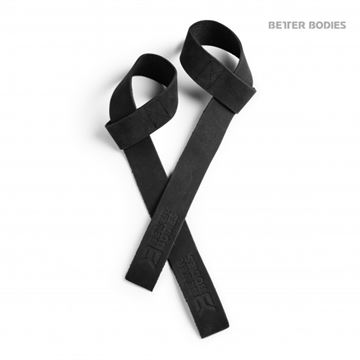 Better Bodies Leather Lifting Straps Sort