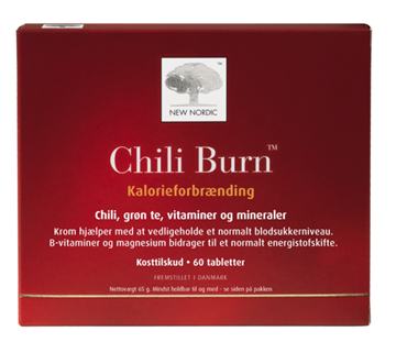 New Nordic Chili Burn 60 tabletter