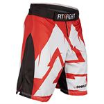 "Fit4Fight ""Danish Warrior"" Fight Shorts"