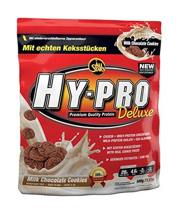 All Stars Hy-Pro Deluxe Casein + Whey Protein Mælkechokolade Cookies